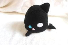 Killer Whale Plush by Pinkchocolate14 on Etsy, $15.00