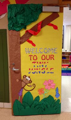 Jungle theme door