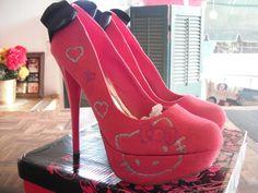 Hello Kitty Hot Pink Heels