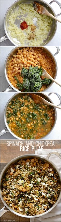 A hearty side or vegetarian main dish infused with herbs and bright pops of lemon and feta. Cooks in one skillet for easy cleanup! Step by step photos. - BudgetBytes.com