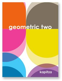 Geometric Two Book by Kapitza #pattern #geometric #kapitza