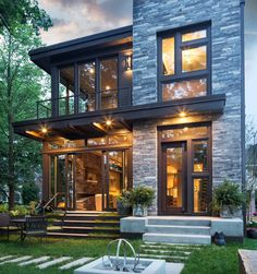 7 Prefab Home Designs We Love | Stone, Modern and Gl on