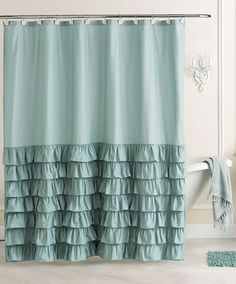 Create effortlessly chic style in your bathroom with the charming look of this LC Lauren Conrad Ella Fabric Shower Curtain. Features tiered ruffle accents and hook perforations. $69.99 Sale $41.99....