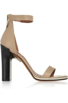 GIVENCHY Ruby metal-detailed leather sandals $1,195
