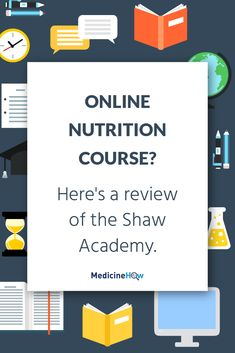 Online Nutrition Course? Here's a review of the Shaw Academy.