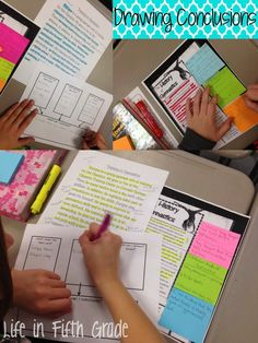 Life in Fifth Grade: Drawing Conclusions: Whole Group Lesson