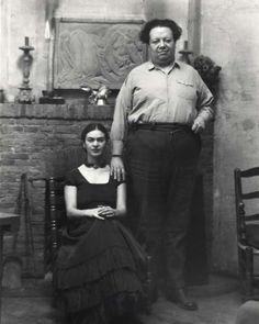 frida kahlo photos young | Frida Kahlo & Diego Rivera