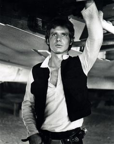 Han Solo-- I've never understood why Star Wars isn't a chick flick, there's way more eye candy for the ladies than anything for the men.