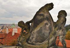 Cateva obiective pe care sa nu le ratezi in Praga - Ioana Vesa Prague, Angels, Lion Sculpture, Angel, Angelfish