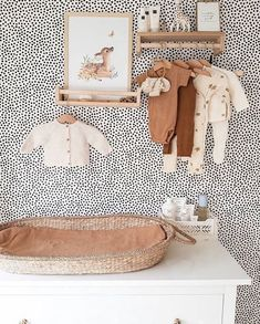 """Georgie Ludlow on Instagram: """"Love our Nyla changing basket in this pretty spot. Thank you @debbyhamersma"""" Baby Boy Nursery Room Ideas, Baby Room Boy, Baby Bedroom, Baby Boy Nurseries, Baby Room Decor, Girl Nursery, Kids Bedroom, Nursery Decor, Room Kids"""