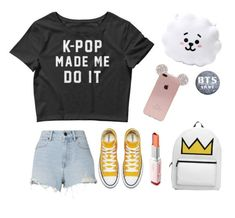 """BTS"" by gucci-emma ❤ liked on Polyvore featuring Pillow Perfect, Alexander Wang and Laneige"