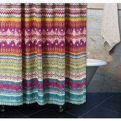 Lush Decor Bohemian Stripe Shower Curtain - 19030737 - Overstock.com Shopping - Great Deals on Lush Decor Shower Curtains