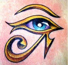 Horus Eye Tattoo Images & Designs