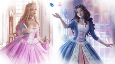 Wallpaper Anneliese and Erika by Wickellia on DeviantArt Pretty Art, Cute Art, Pastell Goth Outfits, Barbie Drawing, Barbie Cartoon, Princess And The Pauper, Photographie Portrait Inspiration, Barbie Movies, Anime Princess