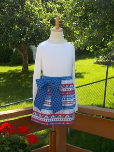 Buy Any 2 Skirts and Get 1 FREE Red White and by designsbylindakay