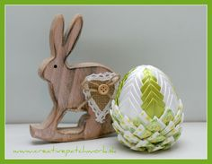 Veľkonočné patchworkové vajíčko 8cm