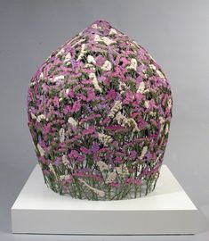 Artist Creates Delicate Sculptures Made from Pressed Flowers - My Modern Met