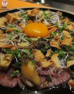 Kagoshima Beef, Maitake, Egg Yolk