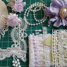 Lavender corsage kit was the first kit ordered so I put it together first. I added a few extra embellishments for your unique inspiration. 3 other kits ready to ship now.
