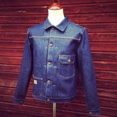 Indigofera Jeans Grant Jacket. (cone mills, selvage, workwear)