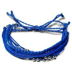 Blue Lightning Set  - Weltfreund Armbänder