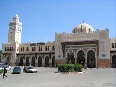 Gare d'Oran, Railway station, Algeria