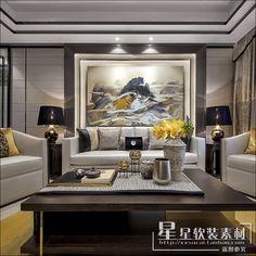 2016高清95套新中式中西混搭别墅样板间设计合集实景照片资料素材-淘宝网