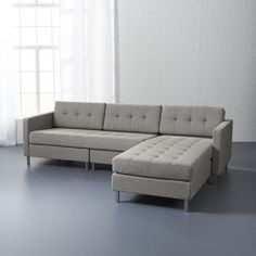 Shop ditto II grey sectional sofa.   No matter how many times you rearrange your room, no matter how many times you move, our ingenious Ditto Sectional will always serve you right (or left, depending on your floor plan).