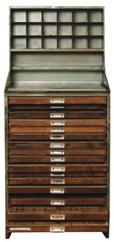 Typesetters Drawers