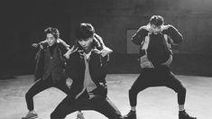 EXO Lay, Xiumin, Tao (gif)