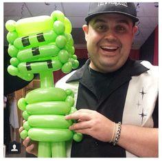 Minecraft Twist Balloon