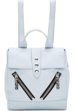 Light bue Kenzo backpack