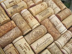 This is an already made 7 3/4 inch recycled wine cork hot plate. It is made up of 32 corks. Some of the corks include Sutter Home, Bolla, Black Swan, Palmer, and Foxhollow.    The frame that surrounds the corks center is made from molding. The bottom (last picture) features little rubber feet in each corner.    This is perfect for wine fans and dinner party hostesses. It can be used as a decoration or a hot plate.    In my house, they are used daily! Especially when we have company or…