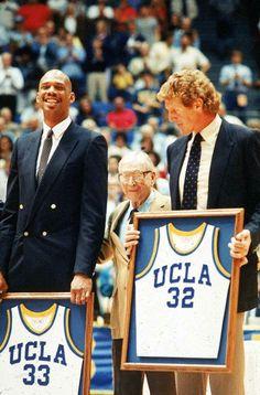 Kareem Abdul Jabbar, John Wooden and Bill Walton - UCLA Legends