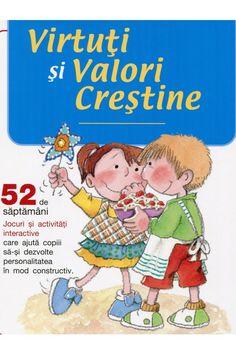 Virtuti si Valori crestine - Jocuri si activitati pentru copii | Carti crestine pentru copii _ en romanès Activități Pentru Copii