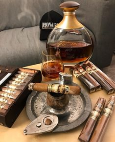 Just Sit Down & Relax Listen To Own Personal Relaxing Music & Having Cognac And Cuban Cigar & Enjoy Life