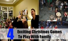 4 Exciting Christmas Games To Play With Family