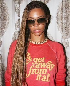 Beyonce's Amazeballs Red Sweatshirt Is On Keep!