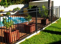 Pool Fencing Ideas swimming pool fencing ideas Safety Pool Fence Ideas For Your Homes