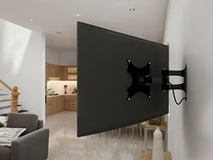 yes4all full motion swing out tilt and swivel arm lcd led plasma tv wall mount