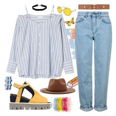"""""""Sin título #73"""" by fixapayno on Polyvore featuring moda, Tuesday Bassen, Jaeger, Strategia, Topshop, Forever 21, Miss Selfridge, Marni, Accessorize y Anya Hindmarch"""