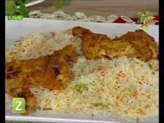 Chicken Tikka And Smoke Rice by Chef Ruby Taj | Zaiqa