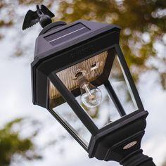 Gama Sonic Imperial Bulb Solar Post Light