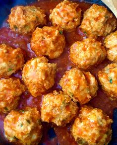 Eating the keto way? Don't give up your favorite foods! We love wings on keto, but I like to change it up a bit with these keto buffalo chicken meatballs!