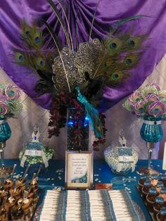 Peacock Wedding Party Ideas | Photo 10 of 62 | Catch My Party