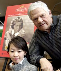 Seeking information about a child murdered during the Holocaust, Fumiko Ishioka met the girl's brother, George Brady.