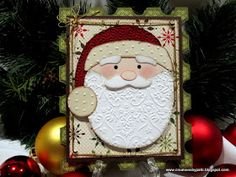 Creations by Patti: Santa Stamp Card
