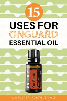 OnGuard is a protective essential oil blend by doTERRA. It is great to keep the wintertime bugs at bay. Check out some of the great uses here! Essential Oil Uses, Essential Oil Diffuser, Doterra Essential Oils, Doterra Onguard, Best Oils, Nutrition, Natural Cleaning Products, Aromatherapy, Doterra On Guard Uses