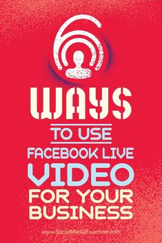 Are you wondering how your business can use Facebook Live?  Using live video will improve your Facebook reach and it can take less time than writing individual posts.  In this article, you'll discover six ways your business can succeed with Facebook Live video. Via @smexaminer.