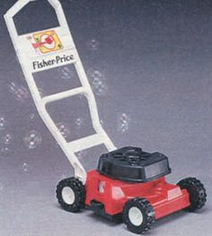 The Bubble Mower. If only mowing the lawn was as fun as using this